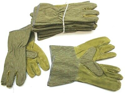 Ddr East German Army Strichtarn Camo Trigger Mitts Gloves