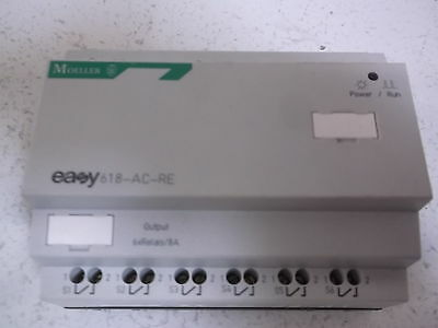Moeller Easy618-Ac-Re Expansion Mod 12 Ac In/6 Relay Out *new Out Of Box*