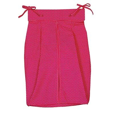 Pink And White Dot - Diaper Stacker