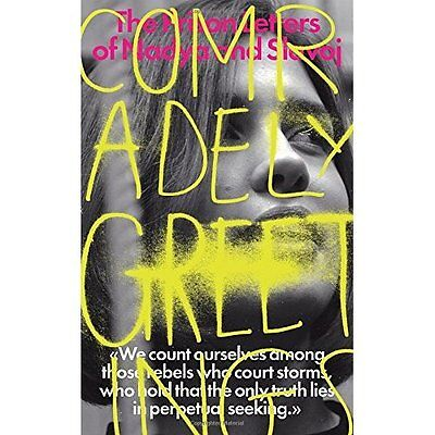 Comradely Greetings: The Prison Letters of Nadya and Sl - Paperback NEW Slavoj Z