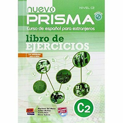 Nuevo Prisma C2: Exercises Book + CD - Paperback NEW Julian Munoz(Au 2013-08-01