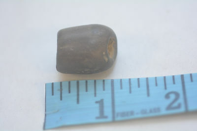 Pre-Historic Ohio Valley Carved tubular bead Stone Artifact  NAA-209