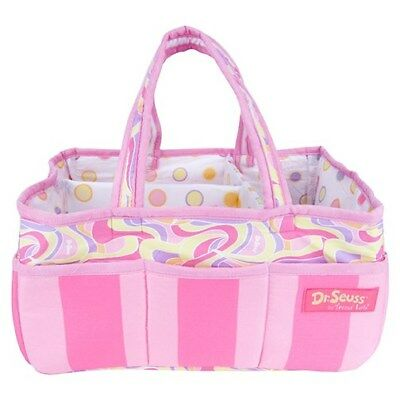 Storage Caddy - Dr. Seuss Pink Oh, The Places You'Ll Go!