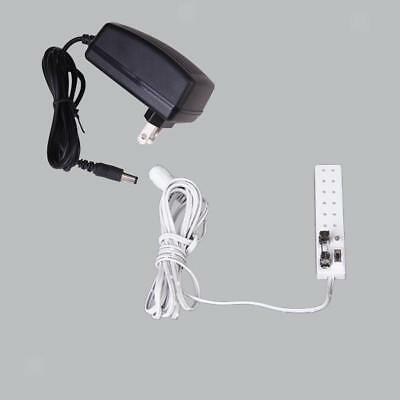1:12 Scale Dollhouse 6 Receptacles Power Strip Transform 12V Furniture
