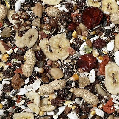 12.5Kg  Johnston And Jeff's Premium Fruit Parrot Mixture Seed Food