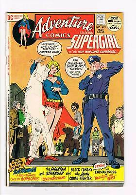 Adventure Comics # 419 the Thief who loved Supergirl ! grade 9.0 scarce book !!