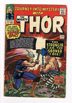 Journey into Mystery # 114 Kirby Thor grade 4.0 super scarce hot book !!