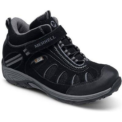 Merrell Cham Mid Ac Waterproof Enfants Chaussures - Black Toutes Tailles