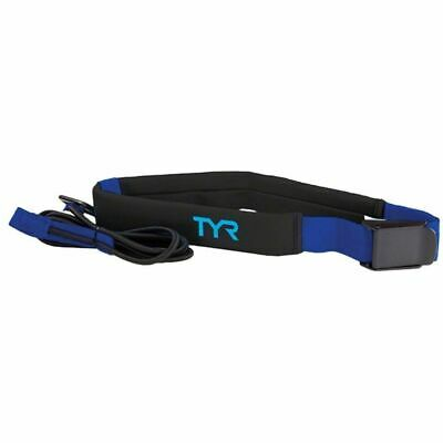 TYR Aquatic Resistance Belt-One Size-Black/Blue-New