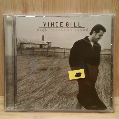 High Lonesome Sound by Vince Gill (CD, May-1996, MCA Nashville) EX! #24