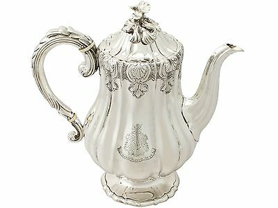 Antique George IV Sterling Silver Coffee Pot