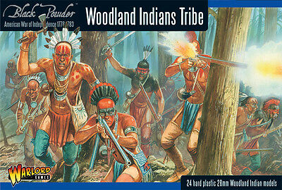 Warlord Games Black Powder BNIB Woodland Indian Tribes WGR-AWI-05