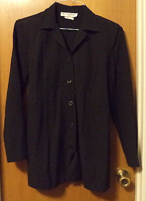 Black Lightweight Maternity Jacket By Motherhood Size S