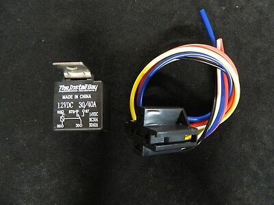 pack amp relay wiring harness spdt volt bosch style s 2 pack 30 40 amp relay heavy duty wire harness 12 volt 5 prong