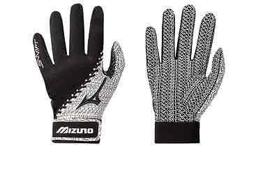 Mizuno Swift Women's Softball Batting Gloves NEW Black/White 330288