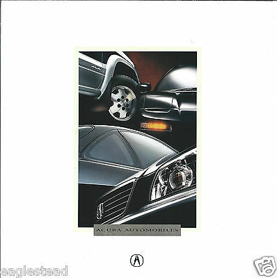 Auto Brochure - Acura - Product Line Overview - 1996 (AB865)
