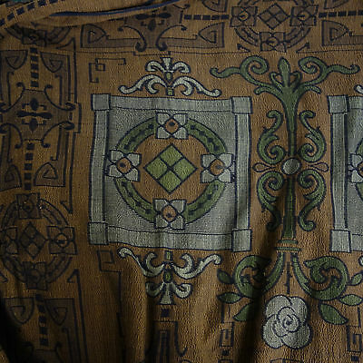 Pair Of Antique Arts & Crafts Bed Covers