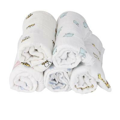 New Soft Muslin Cotton Newborn Baby Swaddle Blanket Bath Towel Nursery Bedding