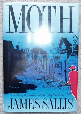 MOTH - by James Sallis -  signed 1st edition