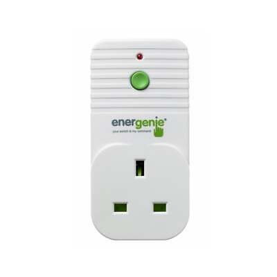 Energenie Add / Replacement Radio Remote Control Socket for Wireless Socket Sets