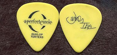 A PERFECT CIRCLE 2004 Step Tour Guitar Pick!! JAMES IHA custom stage PUMPKINS #1