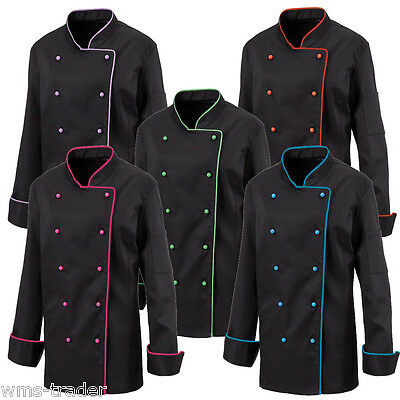 Women's Chef's jacket Chef uniform Cooking needs Gastrobedarf Piping new