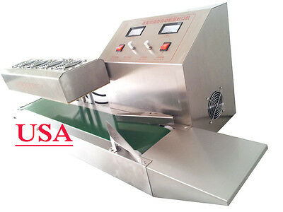 Stainless Steel LT-1800 Continuous Induction Sealer Machine 220V Electromagnetic