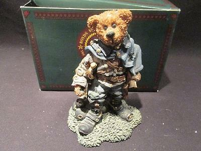 Stonewall the Rebel Boyds 1997 Bearstone #228302 Box & Misprinted Quote 2E/1437