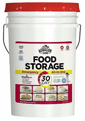 Augason Farms Emergency Food Storage All in One Pail 1 Person For 30 days