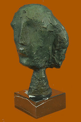 Abstract Modern Art Female by Gia Bronze Sculpture Marble Base Figurine Figure