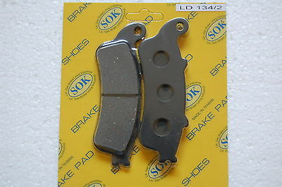 FRONT BRAKE PADS fits HONDA NSS 250 Reflex, 01-07 NSS250 NSS250A NSS250S