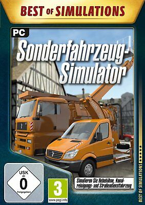 Special Vehicle - Simulator (Best of Simulation) Pc New + Ovp