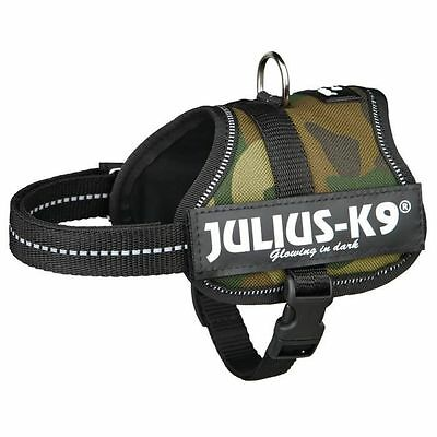 JULIUS-K9 Harnais Power Baby 2/XS?S: 33?45cm camouflage pour chien  NEUF