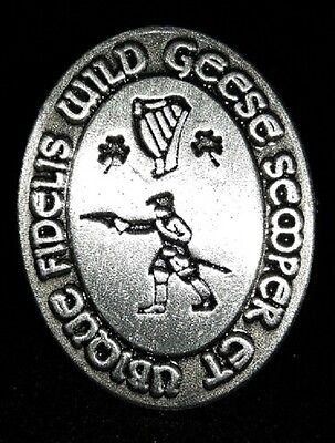 The Wild Geese Pin™, Irish, Gaelic commemoration, lucky charm, Ireland