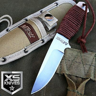 """M-TECH 8"""" SURVIVAL TACTICAL FIXED BLADE Hunting Knife ARMY BOWIE w/ SHEATH"""