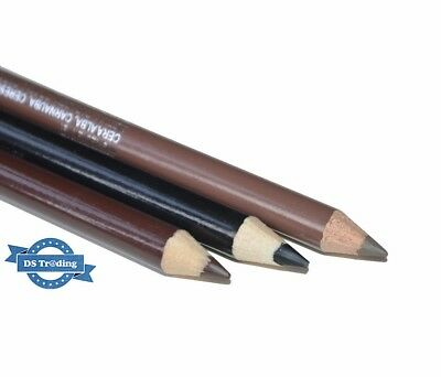 Saffron Waterproof Eyebrow Pencil Available In Black, Blonde & Dark Brown