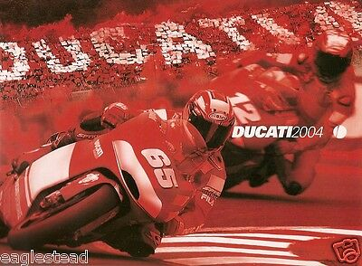 Motorcycle Brochure - Ducati - Product Line Overview - 2004 (DC261)