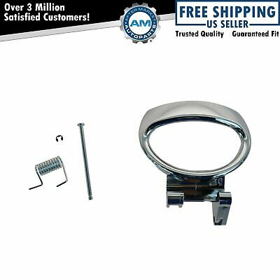Door Handle Chrome Inside Interior Front or Rear LH Left for 06-11 Chevy HHR