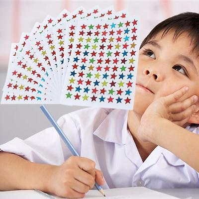 880x Stars Stickers Labels For School Children Teacher Homework Reward Encourage
