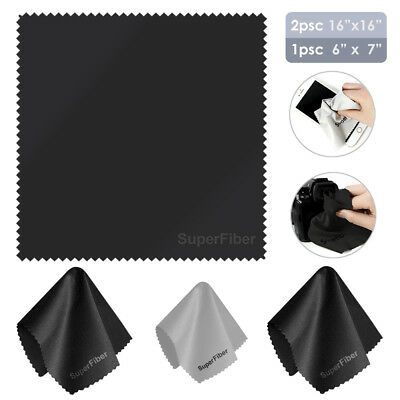 Extra Large Microfiber Cleaning Cloths LCD LED TV Laptop Screen DSLR