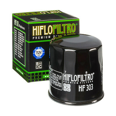Hf303 Hiflofiltro Hiflo Oil Filter For 2010 - 2016 Kawasaki Z1000
