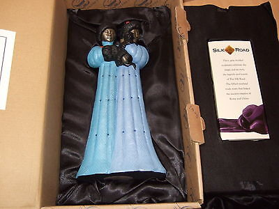THE SILK ROAD FIGURINE ' CHOLMON & BAYAR ' - SOUL JOURNEYS  383 of 2500 .. NEW