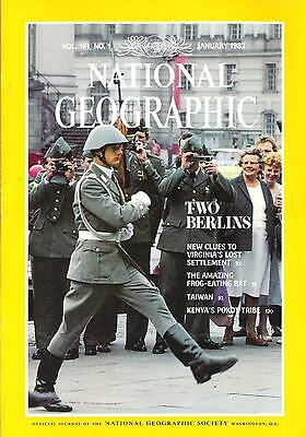 National Géographic(EN)Vol.161 NO.1 January 1982, Two Berlins,...