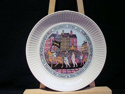 Emperor's New Clothes Wedgwood 1973 Hans Andersen Plate with box & Certificate