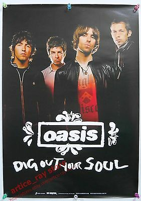 OASIS Dig Out Your Soul 2009 Taiwan Promo Poster 2 NEW
