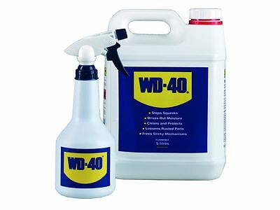 2 x WD40 WITH APPLICATOR BOTTLE 5 LITRE SPRAY LUBRICATION (10 litres)
