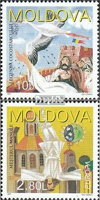 Moldawien 236-237 mint never hinged mnh 1997 Say