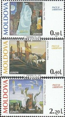 Moldawien 164-166 mint never hinged mnh 1995 Peace
