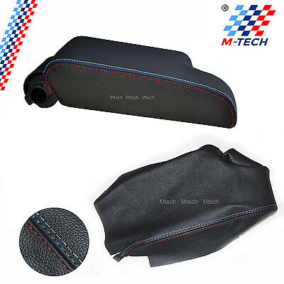Cover Leather Armrest Bmw E46 Coupe Tri-Colour Armrest Turbo Cover
