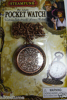 Steam Punk Closed Face Pocket Watch Prop Steampunk Watch Industrial Look 66143